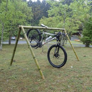 bamboo saddle stand